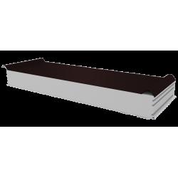 PWD-S - 125 MM, Dachplatten, Styropor RAL 8017