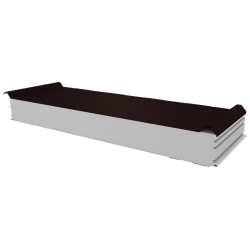 PWD-S - 125 MM, панели крыши, полистирол RAL 8017