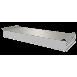 PWD-S - 125 MM, Střešní panely, polystyren RAL 9002