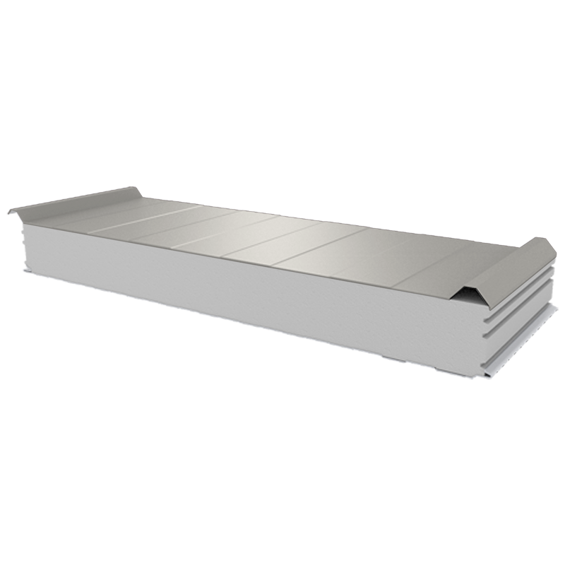 PWD-S - 125 MM, Roofing panels, polystyrene RAL 9002