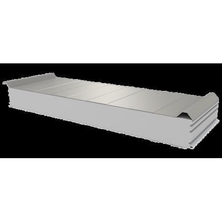 PWD-S - 125 MM, Dachplatten, Styropor RAL 9002