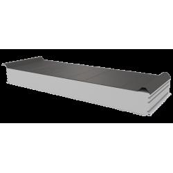 PWD-S - 125 MM, Dachplatten, Styropor RAL 9007