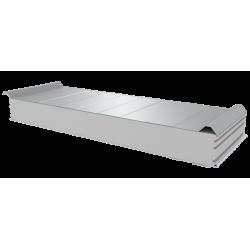PWD-S - 125 MM, Střešní panely, polystyren RAL 9010