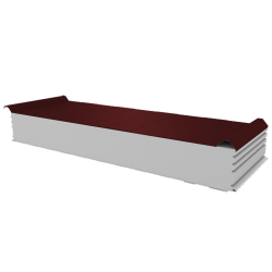 PWD-S - 150 MM, Roofing panels, polystyrene RAL 3009