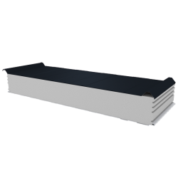 PWD-S - 150 MM, Roofing panels, polystyrene RAL 7016