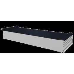 PWD-S - 150 MM, Střešní panely, polystyren RAL 7016