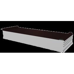 PWD-S - 150 MM, Płyty dachowe, styropian RAL 8017