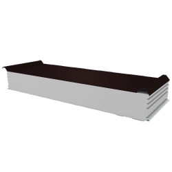 PWD-S - 150 MM, Roofing panels, polystyrene RAL 8017