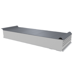 PWD-S - 150 MM, Roofing panels, polystyrene RAL 9006