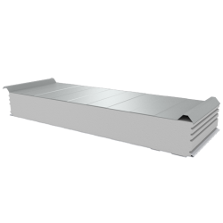PWD-S - 150 MM, Płyty dachowe, styropian RAL 9010