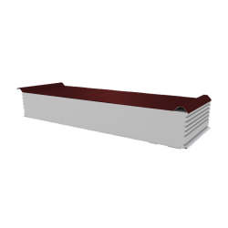 PWD-S - 200 MM, Płyty dachowe, styropian RAL 3009