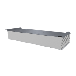 PWD-S - 200 MM, Roofing panels, polystyrene RAL 9006