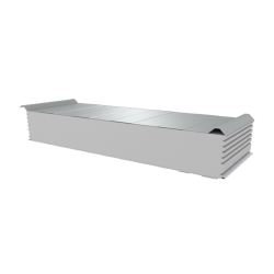 PWD-S - 200 MM, Roofing panels, polystyrene RAL 9010