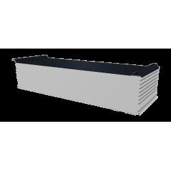 PWD-S - 250 MM, Střešní panely, polystyren RAL 7016