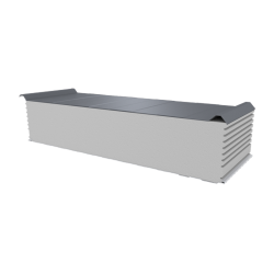 PWD-S - 250 MM, Roofing panels, polystyrene RAL 9006