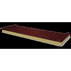 PWD-W - 60 MM, панели крыши, минеральная вата RAL 3009