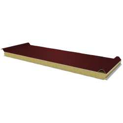 PWD-W - 60 MM, Roof panels, mineral wool RAL 3009