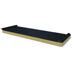 PWD-W - 60 MM, Roof panels, mineral wool RAL 7016
