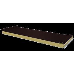 PWD-W - 60 MM, Płyty dachowe, wełna mineralna RAL 8017