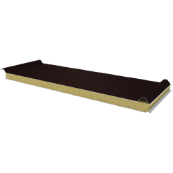 PWD-W - 60 MM, Roof panels, mineral wool RAL 8017