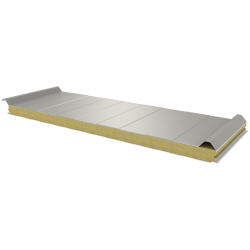 PWD-W - 60 MM, Płyty dachowe, wełna mineralna RAL 9002