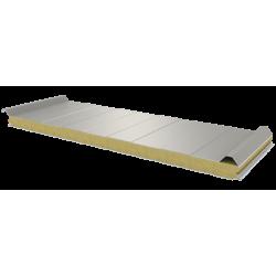 PWD-W - 60 MM, střešní panely, minerální vlna RAL 9002