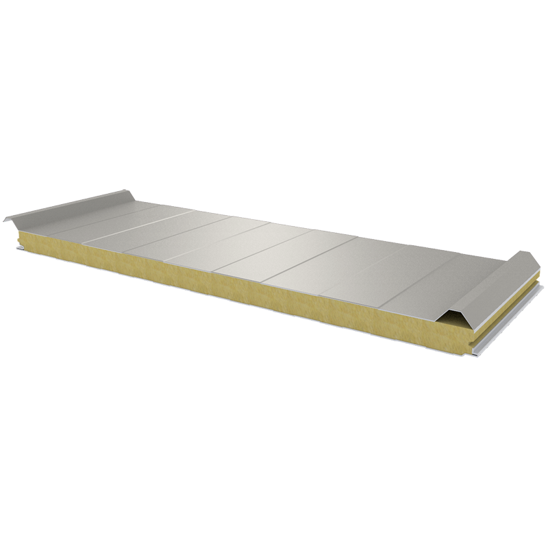PWD-W - 60 MM, Roof panels, mineral wool RAL 9002