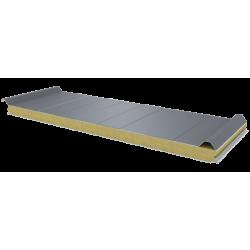 PWD-W - 60 MM, панели крыши, минеральная вата RAL 9006