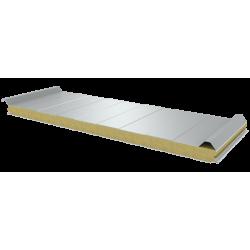 PWD-W - 60 MM, панели крыши, минеральная вата RAL 9010