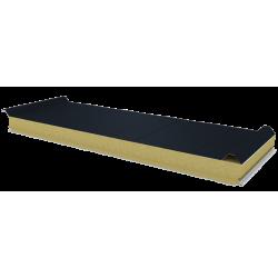 PWD-W - 75 MM, Płyty dachowe, wełna mineralna RAL 7016