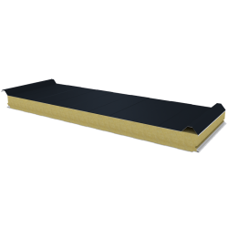 PWD-W - 75 MM, Roof panels, mineral wool RAL 7016