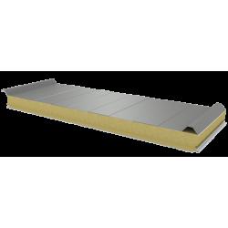 PWD-W - 75 MM, панели крыши, минеральная вата RAL 7035