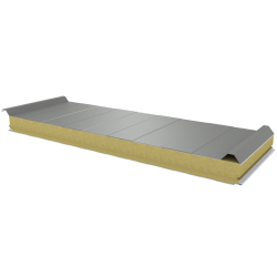 PWD-W - 75 MM, Roof panels, mineral wool RAL 7035