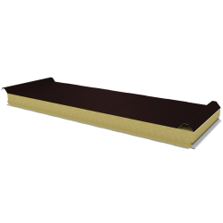 PWD-W - 75 MM, Roof panels, mineral wool RAL 8017