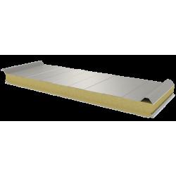 PWD-W - 75 MM, střešní panely, minerální vlna RAL 9006