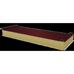 PWD-W - 100 MM, Płyty dachowe, wełna mineralna RAL 3009