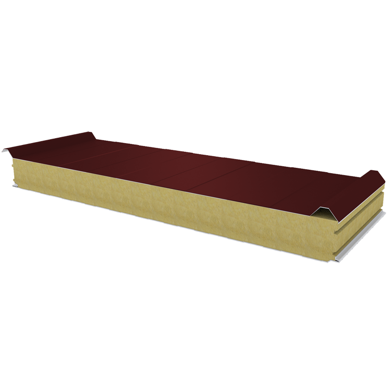 PWD-W - 100 MM, Roof panels, mineral wool RAL 3009