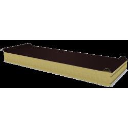 PWD-W - 100 MM, Płyty dachowe, wełna mineralna RAL 8017