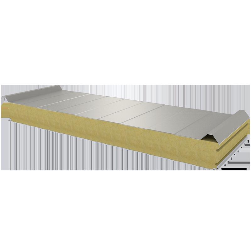 PWD-W - 100 MM, панели крыши, минеральная вата RAL 9002