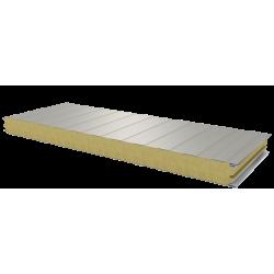 PWS-W - 60 MM, стеновые панели, минеральная вата RAL 9002