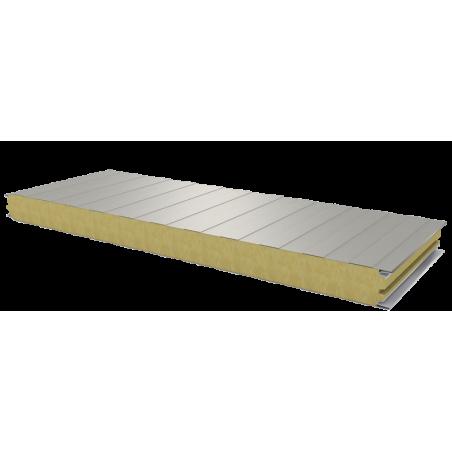 PWS-W - 60 MM, Stěnové panely, minerální vlna RAL 9002
