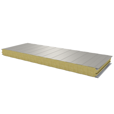 PWS-W - 60 MM, Wall panels, mineral wool RAL 9002