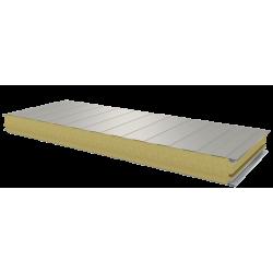 PWS-W - 75 MM, Stěnové panely, minerální vlna RAL 9002