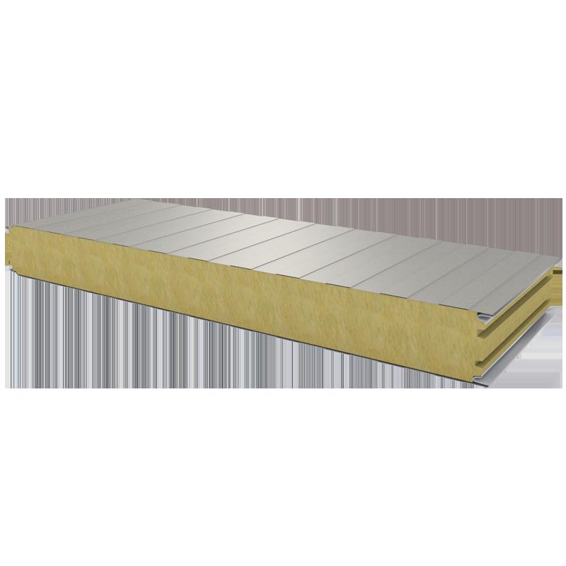 PWS-W - 100 MM, стеновые панели, минеральная вата RAL 9002