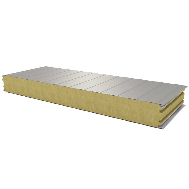 PWS-W - 100 MM, Wall panels, mineral wool RAL 9002