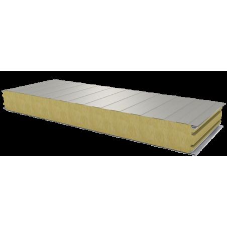 PWS-W - 100 MM, Płyty ścienne, wełna mineralna RAL 9002