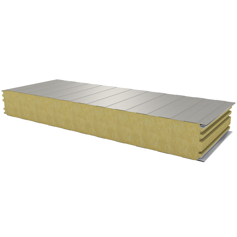 PWS-W - 125 MM, Wall panels, mineral wool RAL 9002
