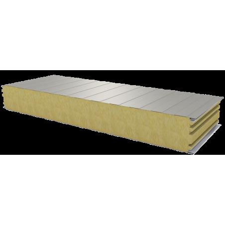 PWS-W - 125 MM, стеновые панели, минеральная вата RAL 9002