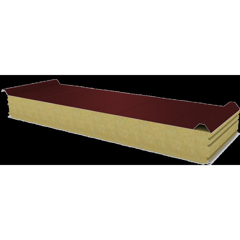 PWD-W - 125 MM, Płyty dachowe, wełna mineralna RAL 3009