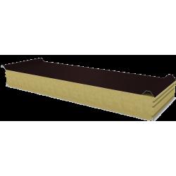 PWD-W - 125 MM, Płyty dachowe, wełna mineralna RAL 8017